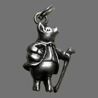 Hand and Hammer Beatrix Potter Pigling Bland Sterling Charm