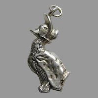 Hand and Hammer Beatrix Potter Jemima Puddleduck Sterling Charm