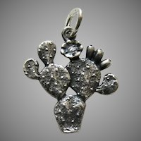 James Avery Cactus Sterling Charm