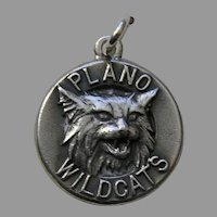 James Avery Plano Wildcats Sterling Charm