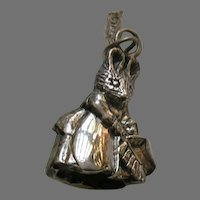 Hand and Hammer Hunca Munca Beatrix Potter Sterling Charm