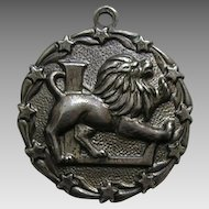 Vintage Paye and Baker Leo the Lion Zodiac Sterling Charm
