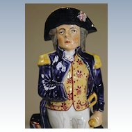 19th Century Admiral Horatio Nelson Toby Jug