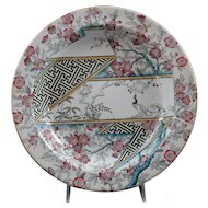 19th Century Pinder, Bourne & Co Soup Plate in a Beaux-Arts Pattern