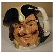 Captain Henry Morgan Royal Doulton Character Jug
