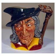 Pied Piper Royal Doulton Character Jug Small