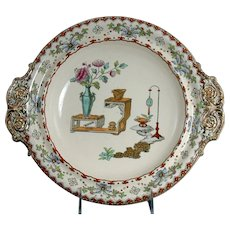 "19th Century Copeland ""Canton"" Vegetable Dish"