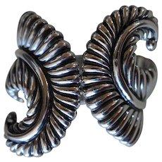 Los Castillo Taxco Bracelet Fern Clamper
