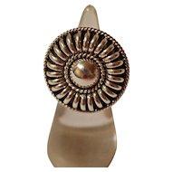 Vintage Navajo Silver Ring Tommie Charlie
