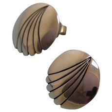 Navajo Silver Earrings Steve Yellowhorse Posts