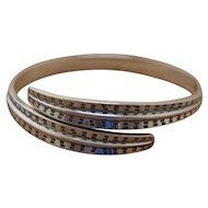 Silver Bangle Bracelet David Andersen Norway