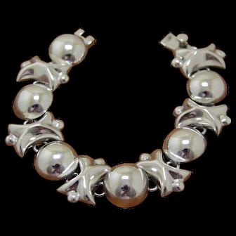 Vintage Taxco Silver Bracelet Links