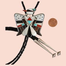 Vintage Zuni Bolo Tie B and C Shack