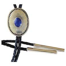 Vintage Navajo Silver Bolo Tie Allison Lee