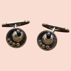 Vintage Danish Cufflinks Eiler and Marloe