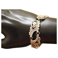 Margot De Taxco Silver Bracelet 5105