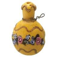 Miniature Venetian Glass Perfume bottle Fashion Doll Accessory