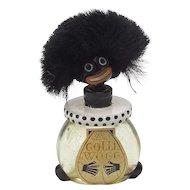 Vintage Golliwog Perfume Bottle with Labels