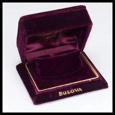 Vintage Deco Bulova Watch Box