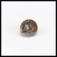 Small Mixed Metal Button