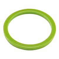 Vintage Bakelite Apple Green Bangle