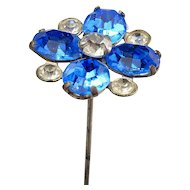 Vintage Jeweled Hat Pin