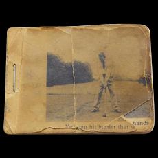 Vintage Golf Instruction Flip Book