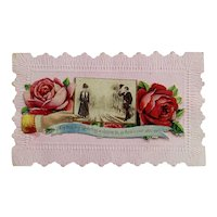 Group of 8 Victorian Holiday Cards and 1 Calling Card