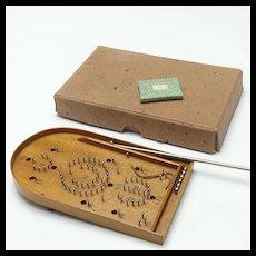 Fabulous Miniature Bagatelle Game Doll Accessory