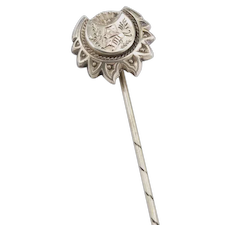 Vintage Silver and Gold Stickpin