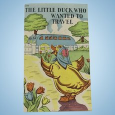Adorable Child's Duck Book
