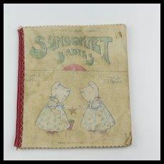 Vintage Sunbonnet Babies Dean's Rag Book
