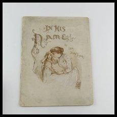 1921 Frances Brundage Illustrated Child's Related Book