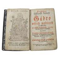 Antique Czechoslovakian Prayer Book Circa 1816