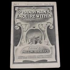 1911 Handyman Enquire Within Magazine