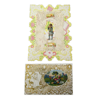Two Victorian Valentine Cards