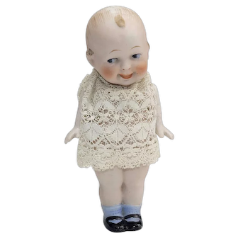 Lovely All Bisque Character Doll