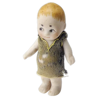 Small All Bisque Side Glancing Eye Doll