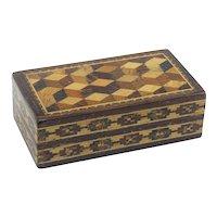 Very Nice Small Tunbridge Ware Box