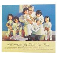 Vintage Dionne Quintuplet Paper Doll Book