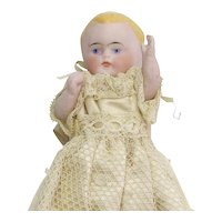 Vintage All bisque Baby Doll All Original