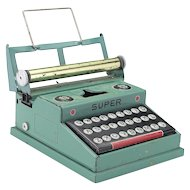 Vintage Tin Toy Typewriter