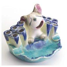 Early Unusual Hummel Dog Figurine Circa 1935