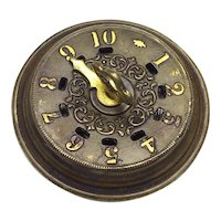 Vintage Brass Game Counter