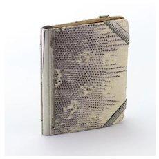 19th Century Aide de Memoire Card Case