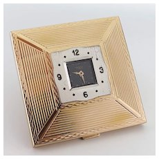 Vintage Compact with Swiss Watch