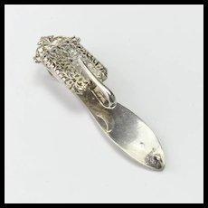 Vintage Silver Chatelaine Hook