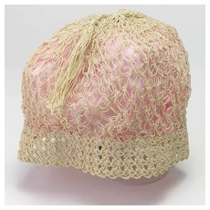 Vintage Boudoir Cap
