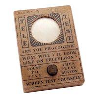 Vintage Toy Television Joke Tele Test