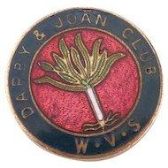 Vintage Darby and Joan Club Medal